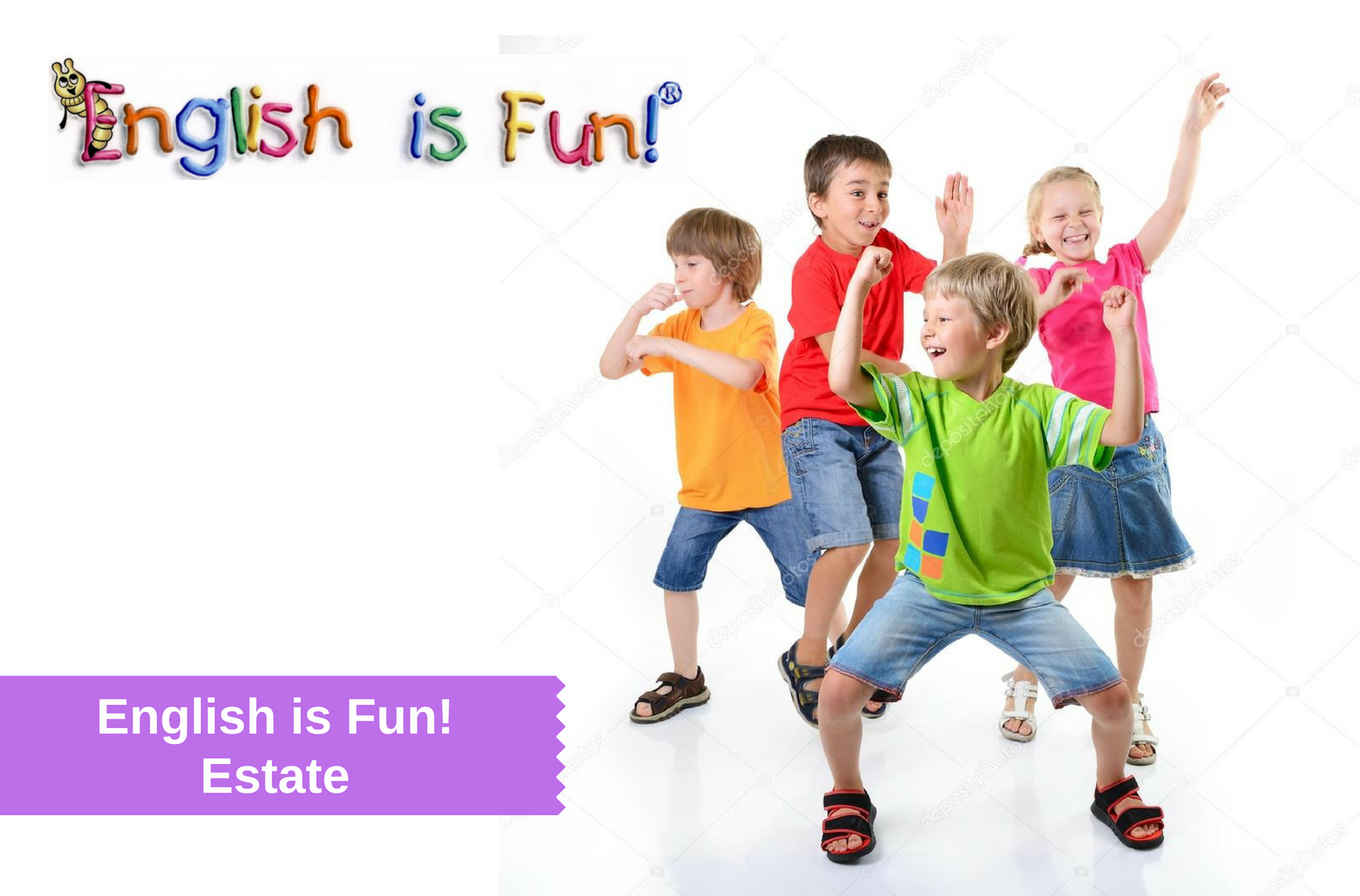 english is fun estate inglese bambini