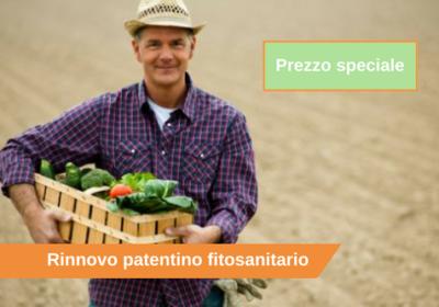 Rinnovo patentino fitosanitario
